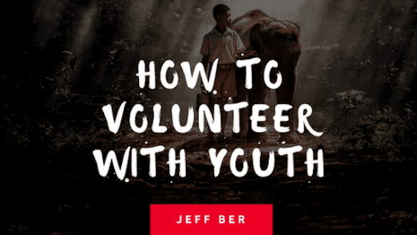How to volunteer with youth